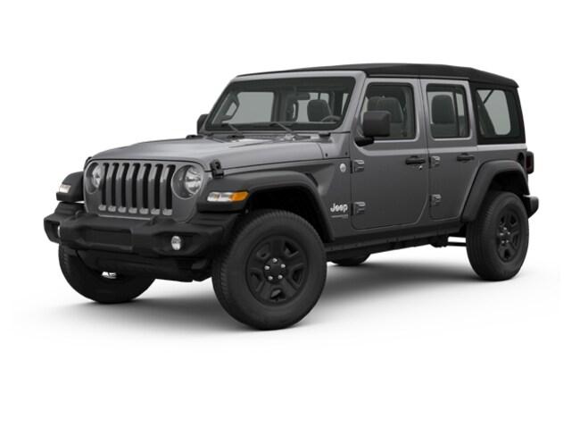 New 2018 Jeep Wrangler UNLIMITED SPORT S 4X4 Sport Utility Denver