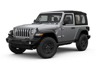 New 2018 Jeep Wrangler SPORT 4X4 Sport Utility 1C4GJXAG0JW192129 For sale near York PA