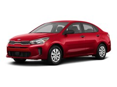 2018 Kia Rio LX Sedan M6 1.6L Radiant Red