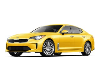 2018 Kia Stinger Sedan Sunset Yellow