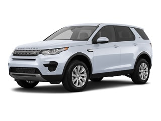 2018 Land Rover Discovery Sport SUV Yulong White Metallic