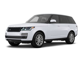 2018 Land Rover Range Rover SUV Yulong White Metallic
