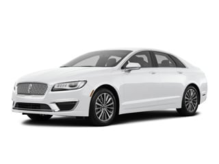 2018 Lincoln MKZ Hybrid Sedan White Platinum Metallic Tri