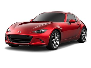2018 Mazda MX-5 RF GT- SOUL RED CRYSTAL- EXCLUSIVE PKG- MANUAL Coupe
