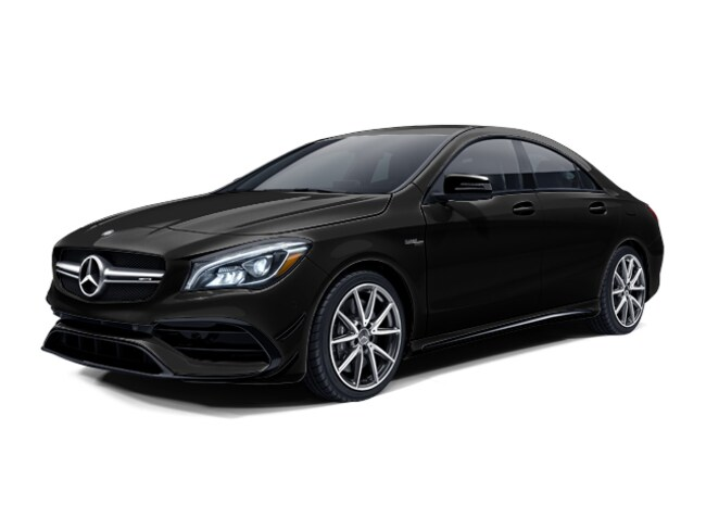 New 2018 Mercedes-Benz AMG CLA 45 4MATIC Sedan in Glendale, near Los Angeles