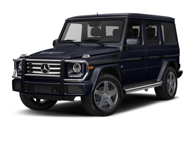 Ocean Blue Metallic Mercedes G Class