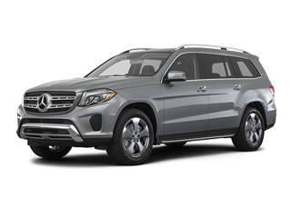 2018 Mercedes-Benz GLS 450 SUV Selenite Gray Metallic