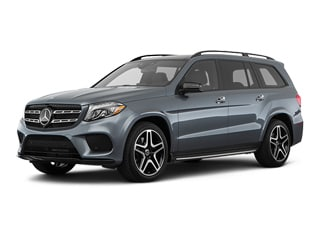 2018 Mercedes-Benz GLS 550 SUV Selenite Gray Metallic