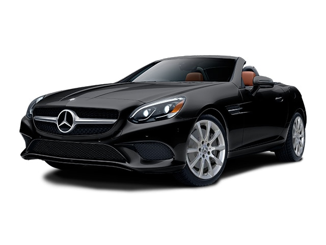 2018 Mercedes Benz SLC 300 Convertible Black
