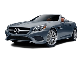2018 Mercedes-Benz SLC 300 Convertible Selenite Gray Metallic