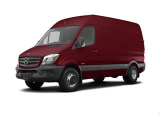 2018 Mercedes-Benz Sprinter 3500 Van Velvet Red