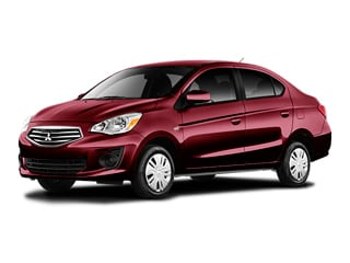 2018 Mitsubishi Mirage G4 Sedan Wine Red