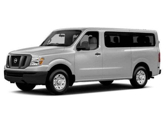 New 2018 Nissan NV Passenger NV3500 HD S V6 Van Clovis CA