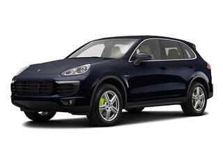 New 2018 Porsche Cayenne E-Hybrid S SUV J70390 in Boston, MA