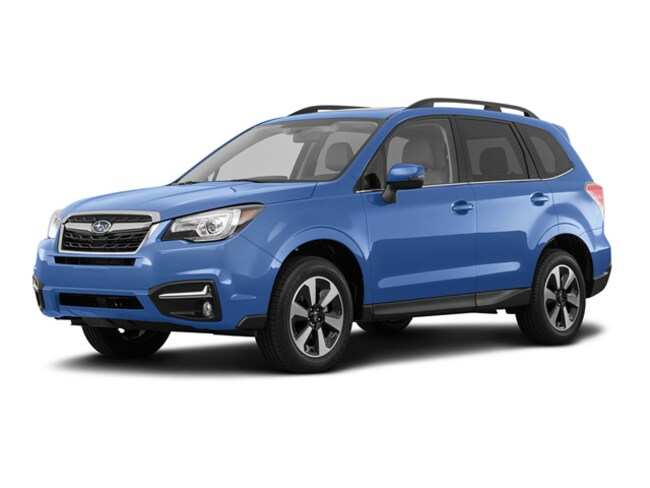 New 2018 Subaru Forester 2.5i Limited with Eyesight + Nav + Starlink SMALL SUVS in Bangor