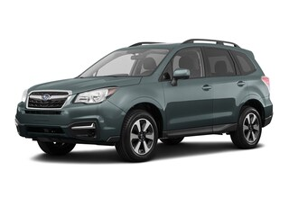 New 2018 Subaru Forester 2.5i Premium with All Weather Package + Starlink SUV JF2SJAEC3JH617007 S81195 in Doylestown