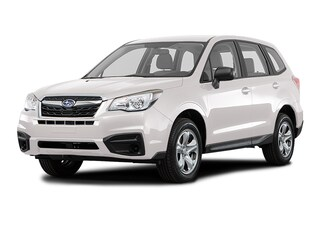 New 2018 Subaru Forester 2.5i with Alloy Wheel Package SUV JF2SJABC1JH606804 in Doylestown