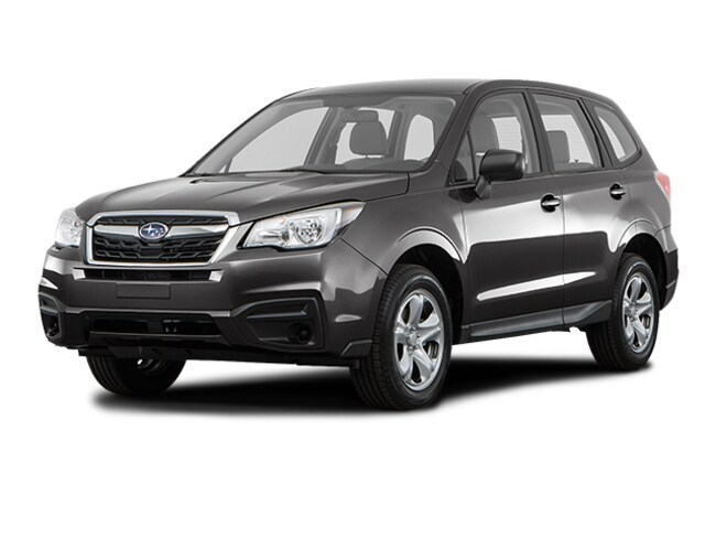 New 2018 Subaru Forester 2.5i SUV JF2SJAAC7JH528997 for sale near Greenville, SC