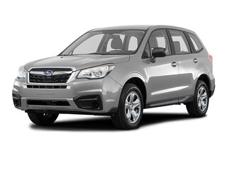 New 2018 Subaru Forester 2.5i with Alloy Wheel Package SUV JF2SJABC1JH582844 for sale in the Chicago area
