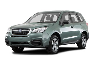 New 2018 Subaru Forester 2.5i with Alloy Wheel Package SUV JF2SJABC1JH544613 for sale in the Chicago area