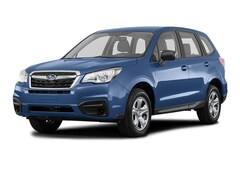 New 2018 Subaru Forester 2.5i SUV JF2SJAAC2JH488960 for sale in Seattle at Carter Subaru Ballard