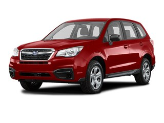 New 2018 Subaru Forester 2.5i with Alloy Wheel Package SUV JF2SJABCXJH605814 S81202 in Doylestown