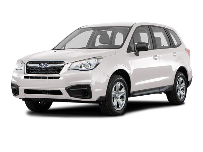 New 2018 Subaru Forester 2.5i SUV for sale near Danbury, Rye, Norwalk, & Greenwich.