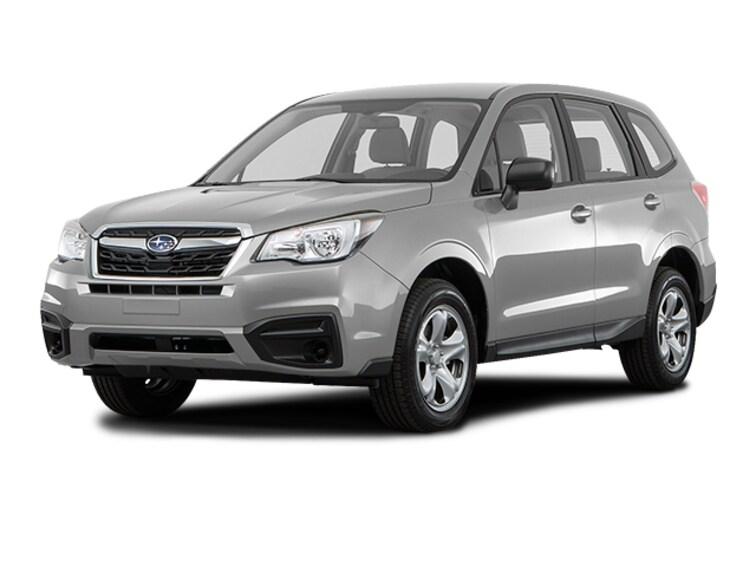New 2018 Subaru Forester 2.5i SUV JF2SJAAC6JG587495 in Akron