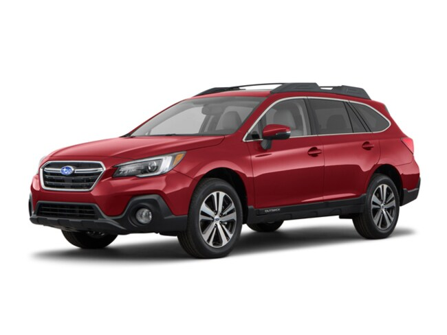 New 2018 Subaru Outback 2.5i Limited with EyeSight, Navigation, High Beam Assist, Reverse Auto Braking, LED Headlights, Steering Responsive Headlights, and Starlink SUV in Bay Shore, MI