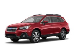 New 2018 Subaru Outback 2.5i Limited with EyeSight, Navigation, High Beam Assist, Reverse Auto Braking, LED Headlights, Steering Responsive Headlights, and Starlink SUV in Potsdam