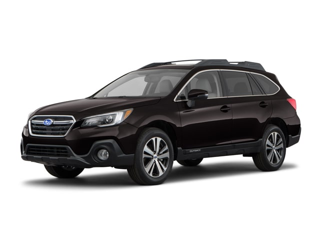 2018 Subaru Outback 2.5i Limited with EyeSight, Navigation, High Beam Assist, Reverse Auto Braking, LED Headlights, Steering Responsive Headlights, and Starlink SUV 4S4BSANCXJ3327139