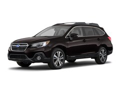 New 2018 Subaru Outback 2.5i Limited with EyeSight, Navigation, High Beam Assist, Reverse Auto Braking, LED Headlights, Steering Responsive Headlights, and Starlink SUV 4S4BSANC5J3263544 for sale near Greenville, NC