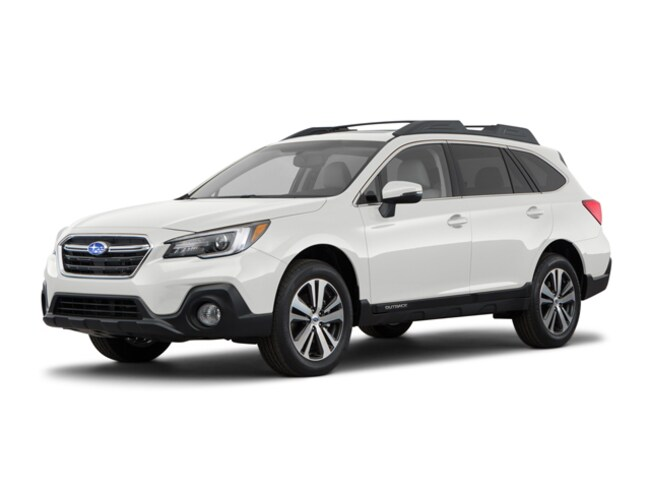 New 2018 Subaru Outback 2.5i Limited with EyeSight, Navigation, High Beam Assist, Reverse Auto Braking, LED Headlights, Steering Responsive Headlights, and Starlink SUV in Bangor