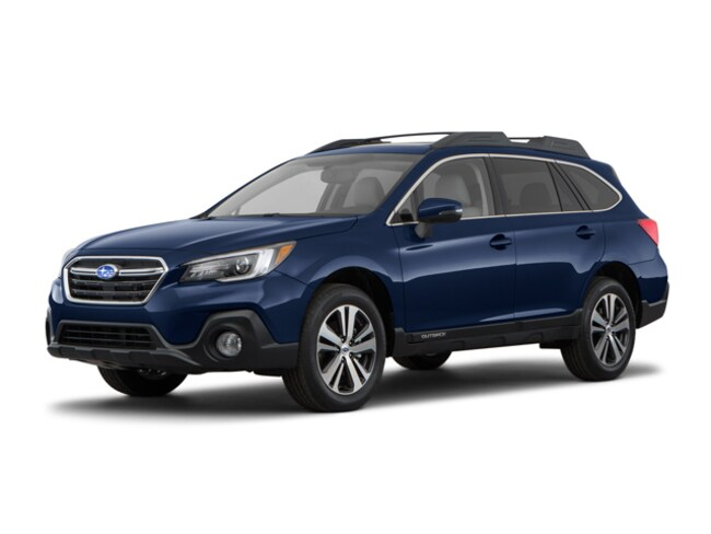 New 2018 Subaru Outback 2.5i Limited with EyeSight, Navigation, High Beam Assist, Reverse Auto Braking, LED Headlights, Steering Responsive Headlights, and Starlink SUV 4S4BSANC5J3243262 for sale near Greenville, SC