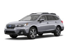 New 2018 Subaru Outback 2.5i Limited with EyeSight, Navigation, High Beam Assist, Reverse Auto Braking, LED Headlights, Steering Responsive Headlights, and Starlink SUV 4S4BSANC6J3313402 for sale in Bourne MA