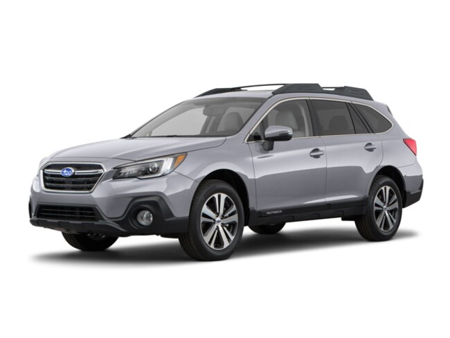 New 2018 Subaru Outback 2.5i Limited with EyeSight, Navigation, High Beam Assist, Reverse Auto Braking, LED Headlights, Steering Responsive Headlights, and Starlink SMALL SUVS in Bennington, VT