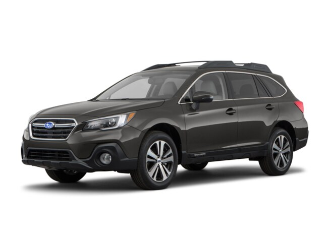 New 2018 Subaru Outback 2.5i Limited with EyeSight, Navigation, High Beam Assist, Reverse Auto Braking, LED Headlights, Steering Responsive Headlights, and Starlink SUV in Van Nuys CA
