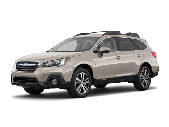 New 2018 Subaru Outback 2.5i Limited with EyeSight, Navigation, High Beam Assist, Reverse Auto Braking, LED Headlights, Steering Responsive Headlights, and Starlink SUV near Boston