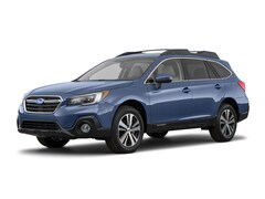 2018 Subaru Outback 2.5i Limited with EyeSight, Navigation, High Beam Assist, Reverse Auto Braking, LED Headlights, Steering Responsive Headlights, and Starlink SUV 4S4BSANC0J3395644