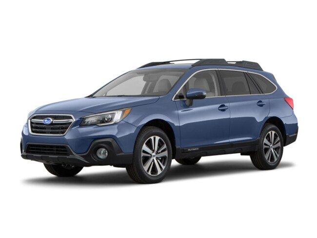 New 2018 Subaru Outback 2.5i Limited with EyeSight, Navigation, High Beam Assist, Reverse Auto Braking, LED Headlights, Steering Responsive Headlights, and Starlink SUV Branford CT