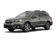New 2018 Subaru Outback 2.5i Limited with EyeSight, Navigation, High Beam Assist, Reverse Auto Braking, LED Headlights, Steering Responsive Headlights, and Starlink SUV 4S4BSANC6J3295385 for sale in Bourne MA