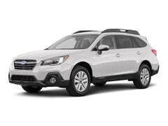 New 2018 Subaru Outback 2.5i Premium with EyeSight, Blind Spot Detection, Rear Cross Traffic Alert, Power Rear Gate, High Beam Assist, and Starlink SUV 4S4BSAFCXJ3203662 in Cheyenne, WY at Halladay Subaru