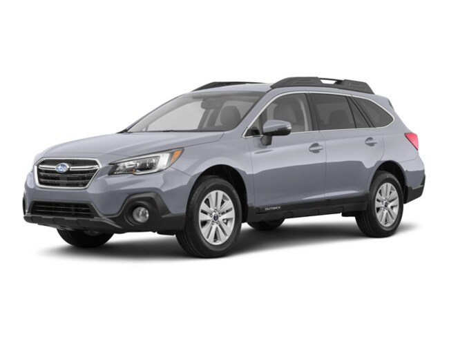 New 2018 Subaru Outback 2.5i Premium with EyeSight, Blind Spot Detection, Rear Cross Traffic Alert, Power Rear Gate, High Beam Assist, and Starlink SUV in Bangor