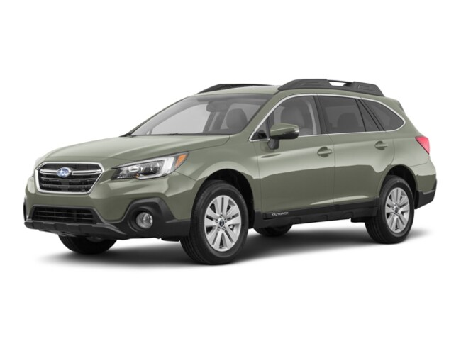 New 2018 Subaru Outback 2.5i Premium with EyeSight, Blind Spot Detection, Rear Cross Traffic Alert, Power Rear Gate, High Beam Assist, and Starlink SUV in Bennington, VT
