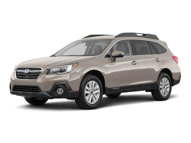 New 2018 Subaru Outback 2.5i Premium with EyeSight, Blind Spot Detection, Rear Cross Traffic Alert, Power Rear Gate, High Beam Assist, Moonroof, Navigation, and Starlink SUV for sale at Hunter Subaru in Hendersonville, NC
