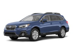 New 2018 Subaru Outback 2.5i Premium with EyeSight, Blind Spot Detection, Rear Cross Traffic Alert, Power Rear Gate, High Beam Assist, Moonroof, Navigation, and Starlink SUV 4S4BSAHC3J3270424 for Sale in Johnstown, PA