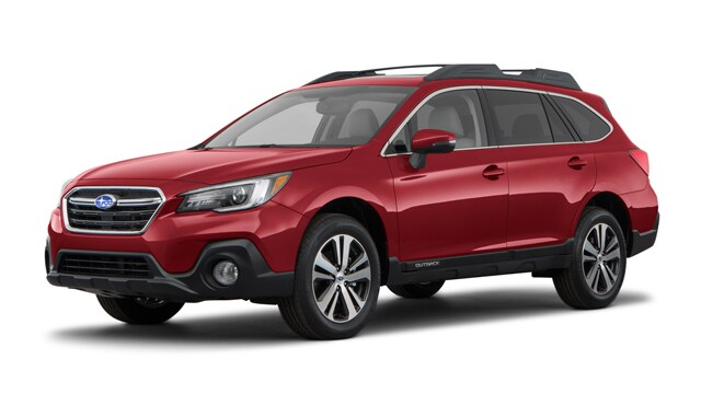 2018 Subaru Outback 3.6R Limited with EyeSight, Navigation, High Beam Assist, Reverse Auto Braking, and Starlink SUV B5746