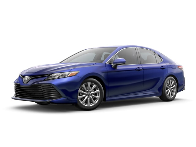 2018 Toyota Camry Sedan Blue Crush Metallic