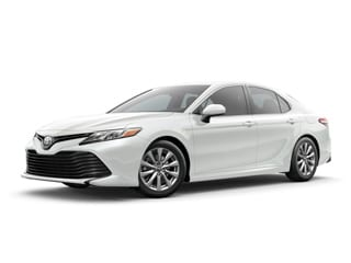 2018 Toyota Camry Sedan Wind Chill Pearl