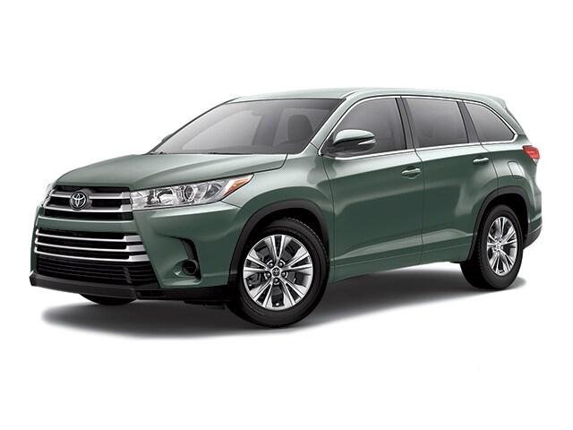 2018 Toyota Highlander SUV Alumina Jade Metallic